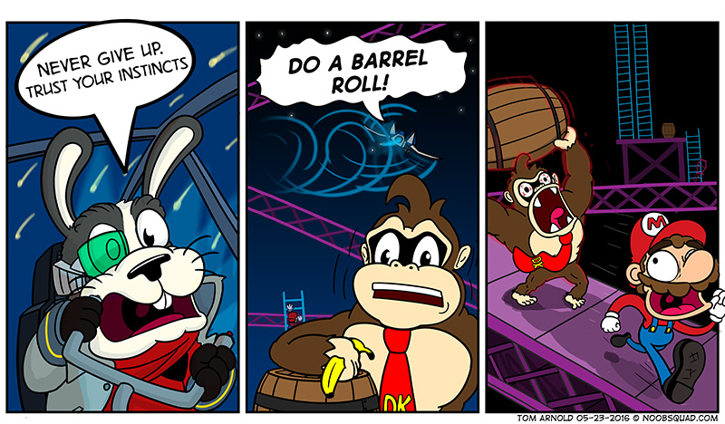 Barrel Roll Origins